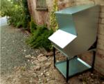 My-Fifo galvanised storage hopper bin for dry animal feed