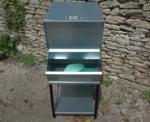 My-Fifo metal FIFO storage hopper bin for animal feed