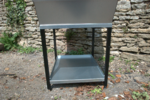 My-Fifo Galvanized Feed Hopper Bin uses first in - first out storage to keep feed fresh | www.my-fifo.com