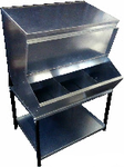 My-Fifo Galvanized Feed Hopper Bin - for more information see our FAQs page